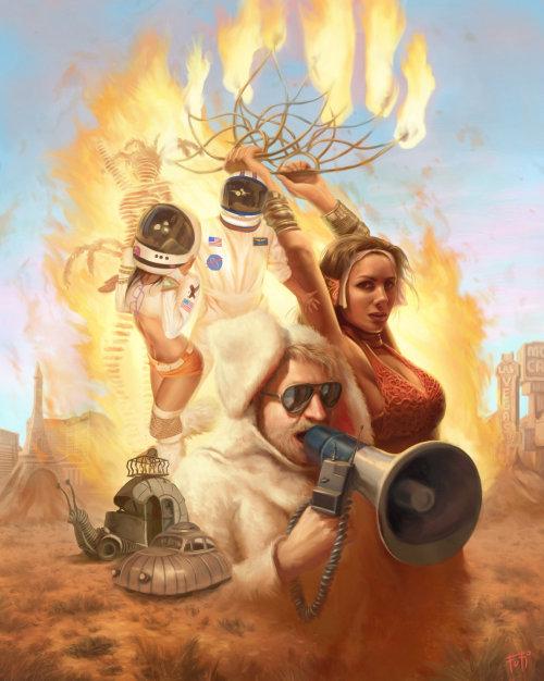 Las Vegas weekly cover art