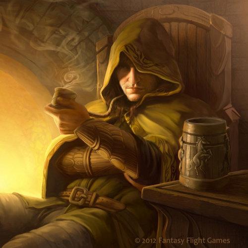 Artwork of Aragorn character