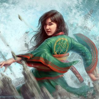Illustration of Yoritomo Harumi: Legend of the Five Rings