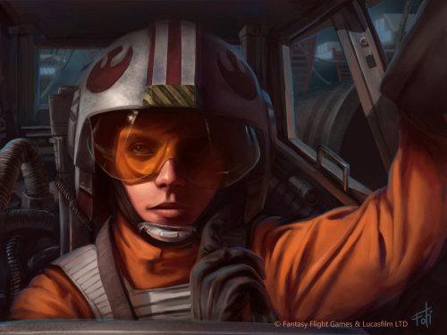 Hestar Pore pilot illustration