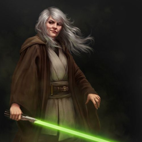 Star Wars realistic character