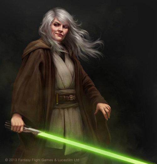 Personnage réaliste de Star Wars