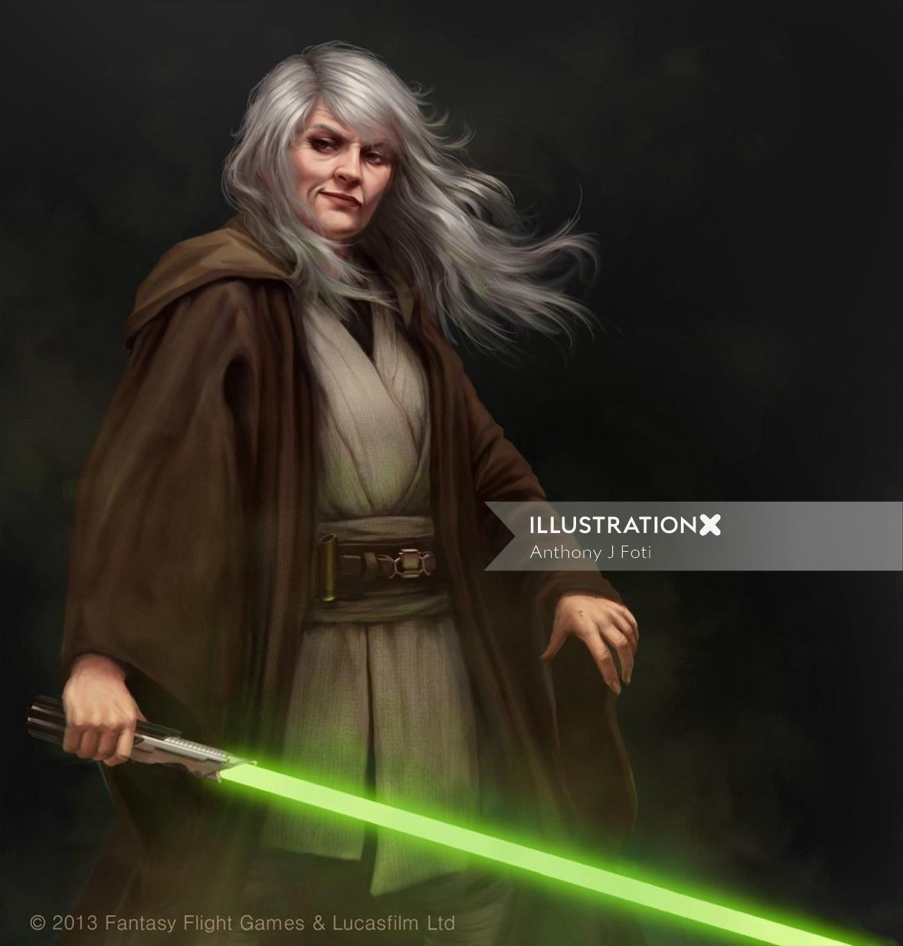 Star Wars realistic character