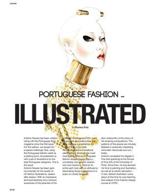 Alexandra Moura for Portuguese Soul Magazine