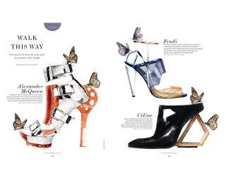Editorial Illustration For S/Style & Fashion Magazine