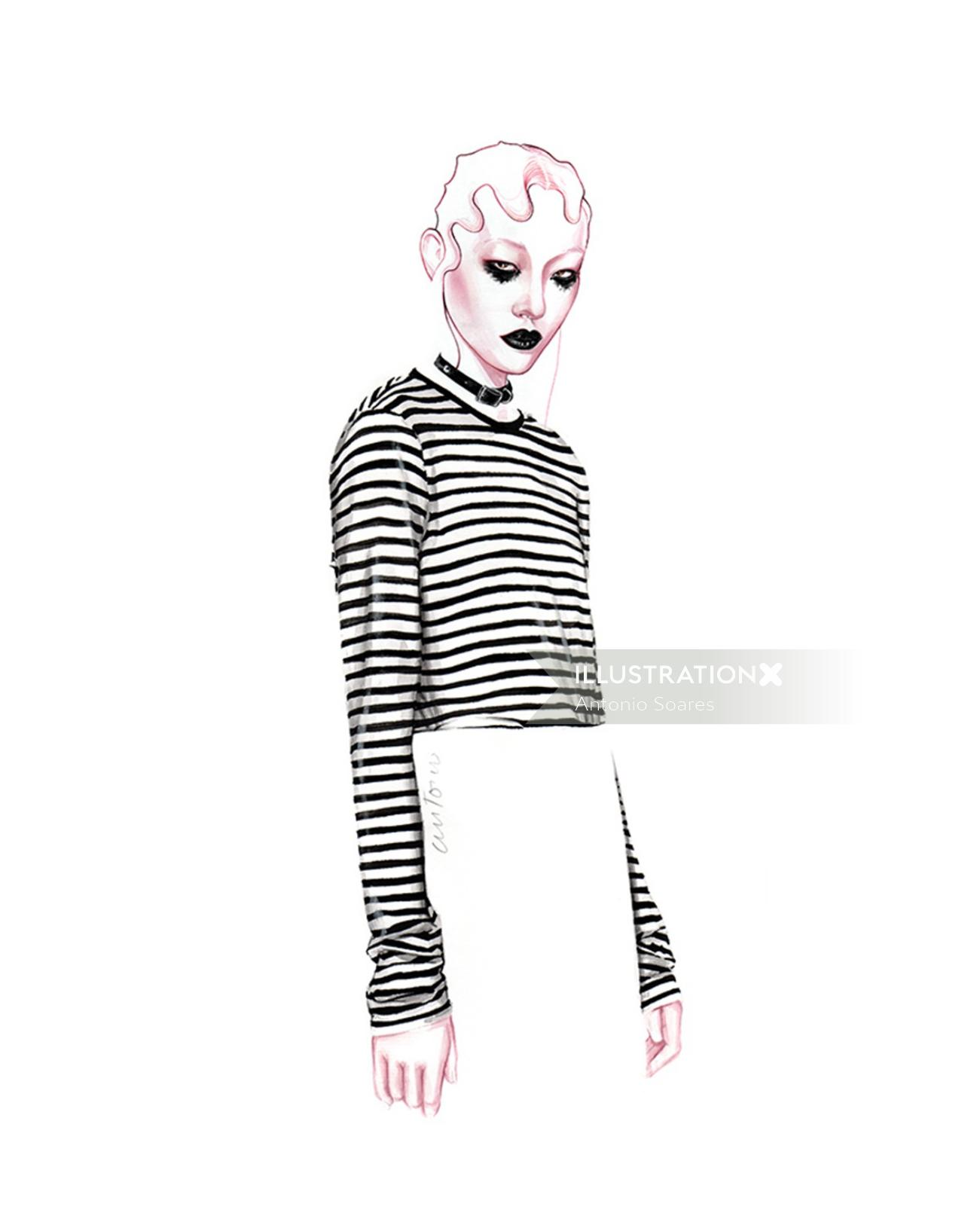 Marc Jacobs fashion design by Antonio Soares