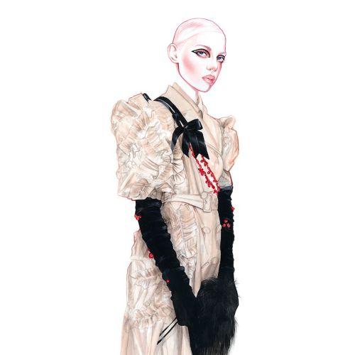 Fashion art of beautiful girl by Antonio Soares