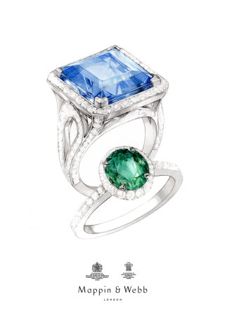Contemporary design for Mappin & Webb
