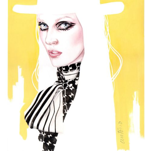 Antonio Soares Fashion Luxe Illustrator from Portugal