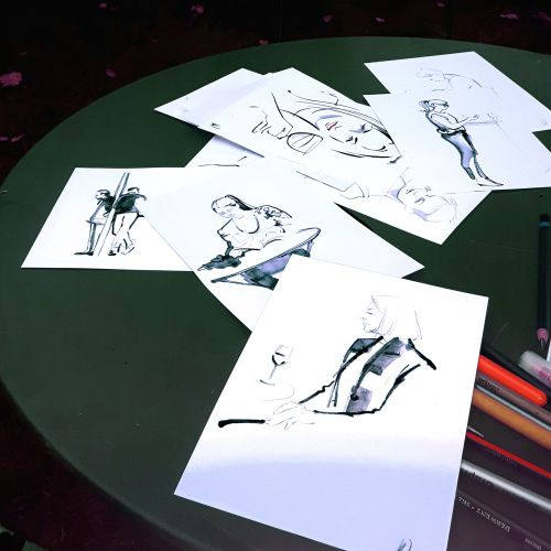 Live event drawing collection