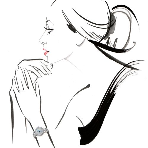 woman portrait in Live Event Drawing by Katharine Asher
