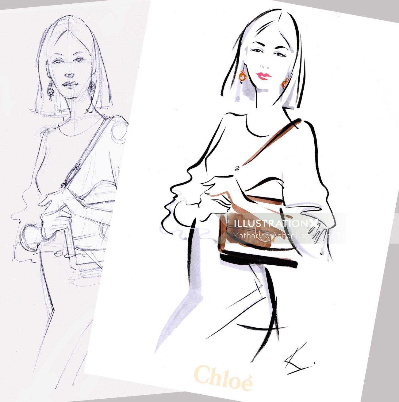 Katharine Asher Live Event Drawing