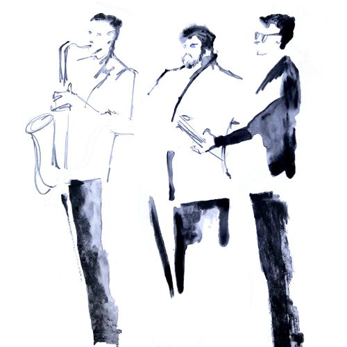 Live drawing at Californian Wines event - MUSICAL ENTERTAINERS