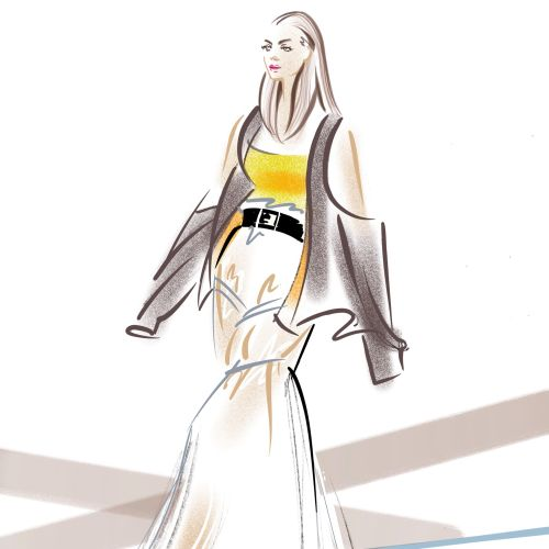Live Event Drawing at UWE Fashion Show