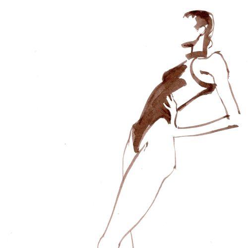Katharine Asher Live Event Drawing Desenho de evento ao vivo