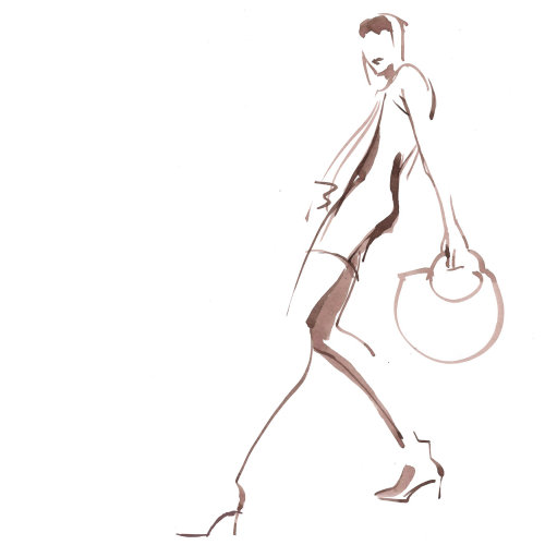 Fashion Live Even drawing of a woman