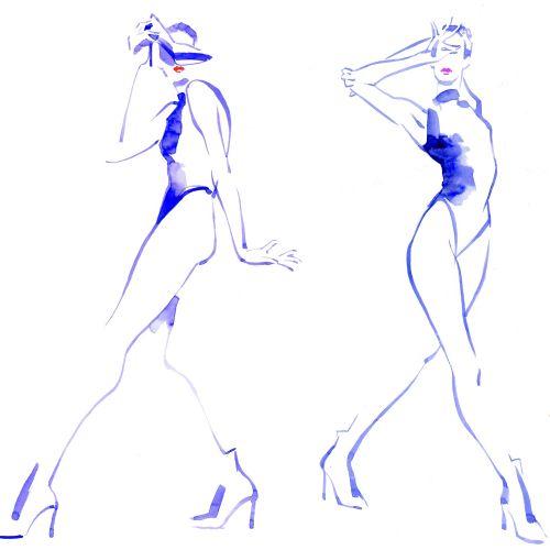 Live drawing Sketching model