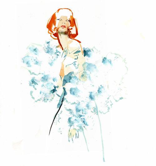 Dibujo de evento en vivo Mishy May Couture