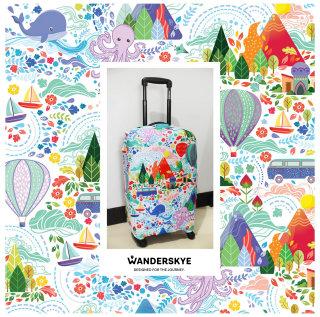 Wanderskye luggage cover art