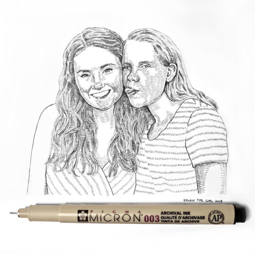 Arte do retrato de casal por August Lamm
