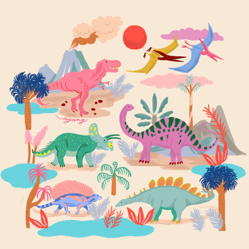 ZOO map illustration