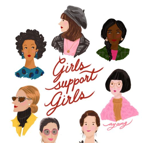 people girls support girls