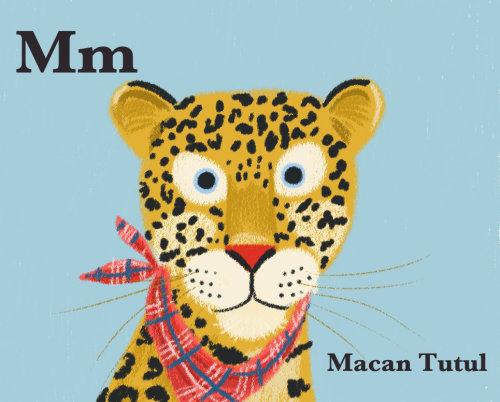 Crianças Macan Tutul leopardo