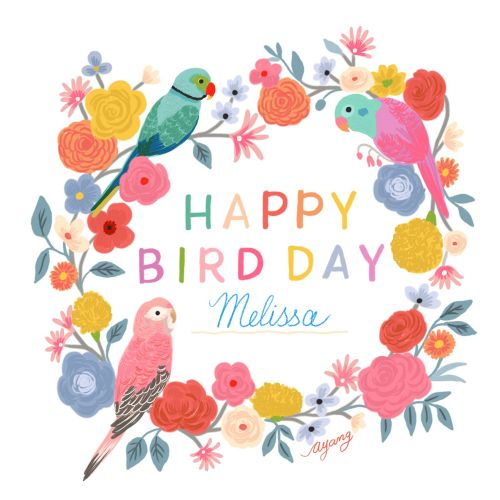 Animals Happy birthday melissa