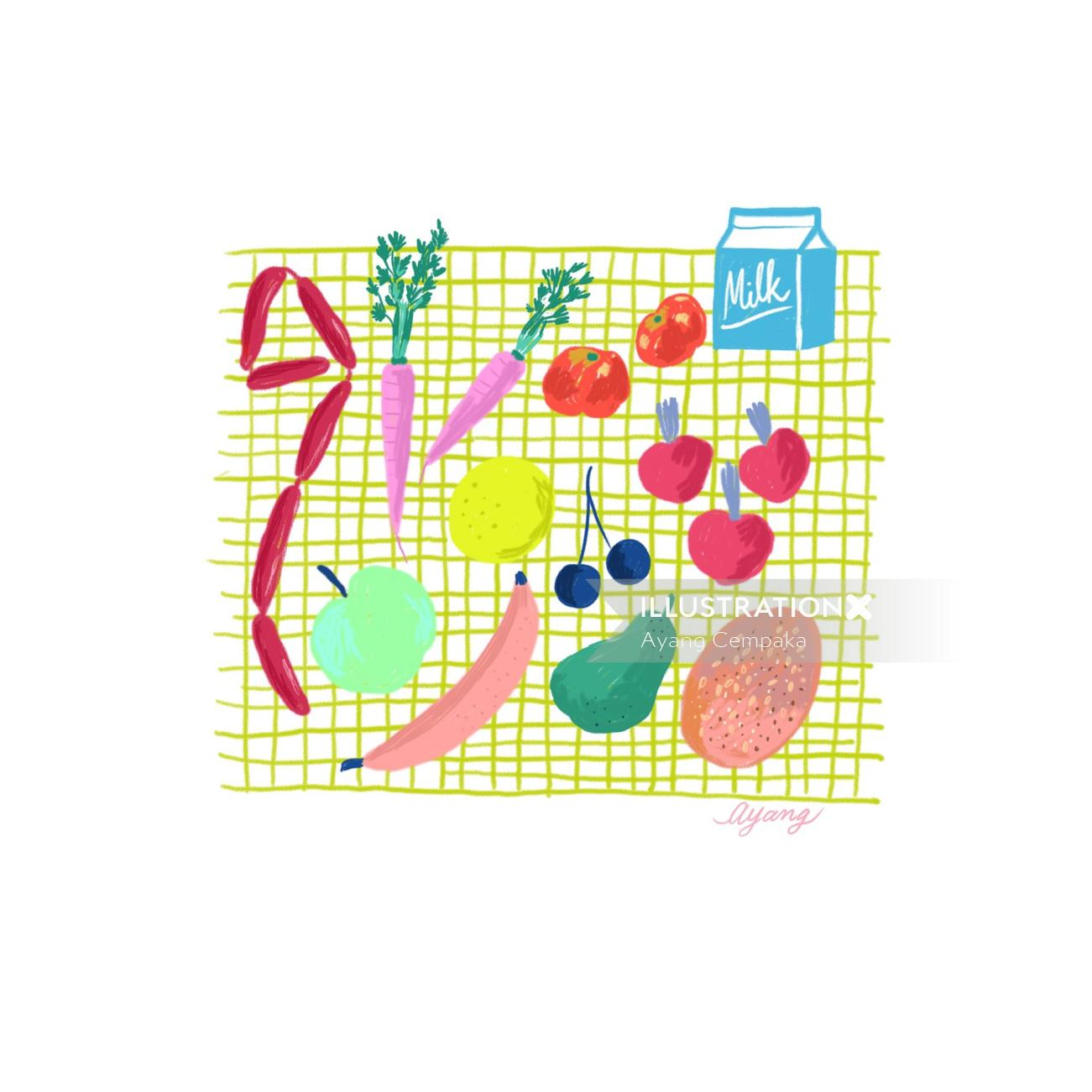Food & Drink Vegetables milk