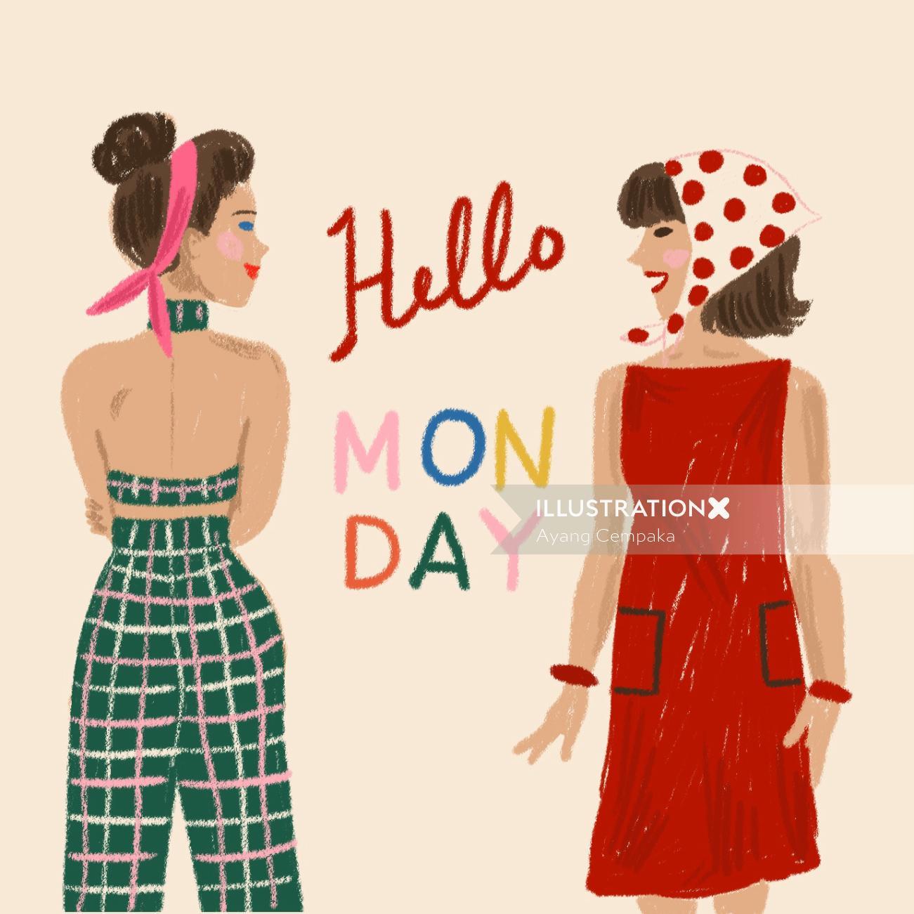 Insta Influencers 10k+ Hello o Monday
