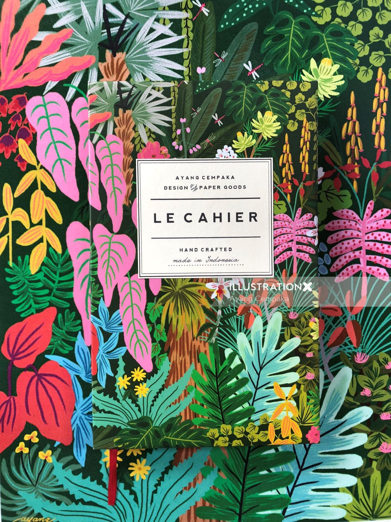 Nature Graphic Le Cahier