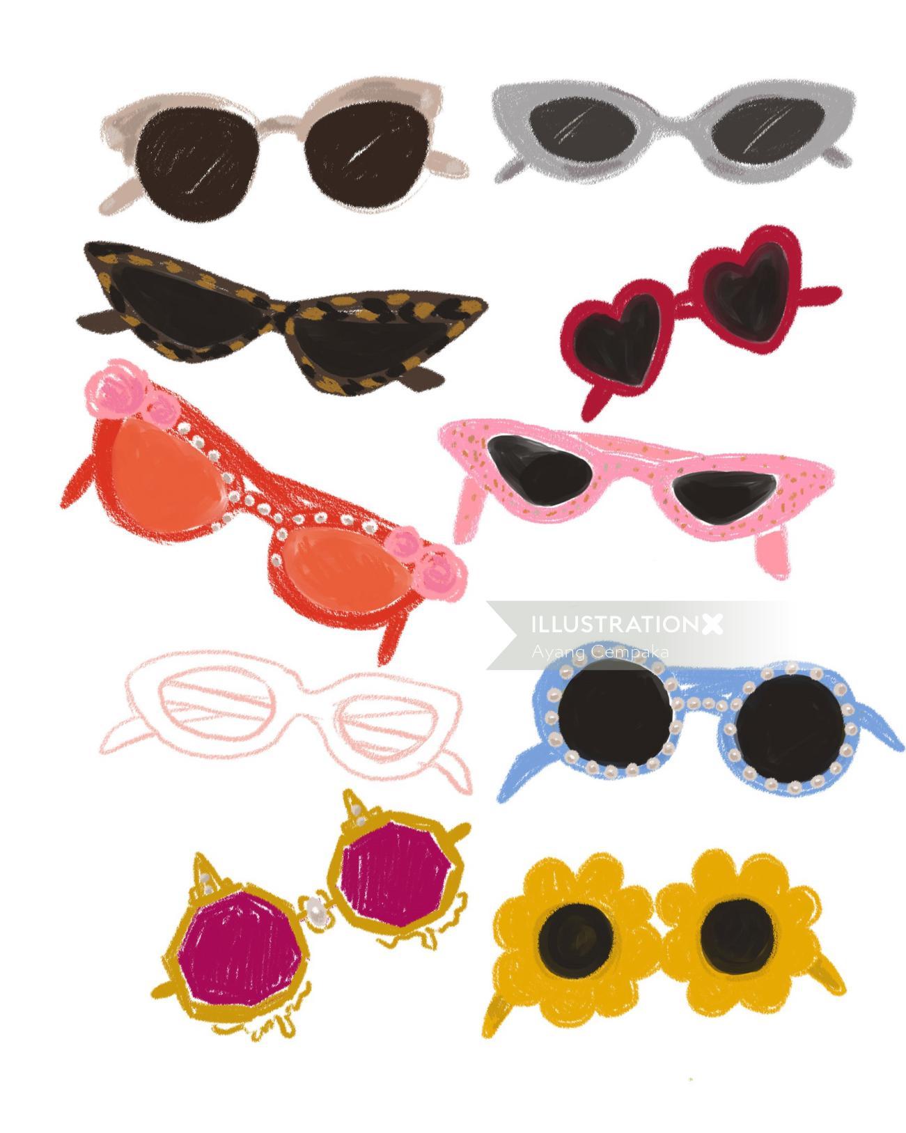 Insta Influencers 10k+ female shades