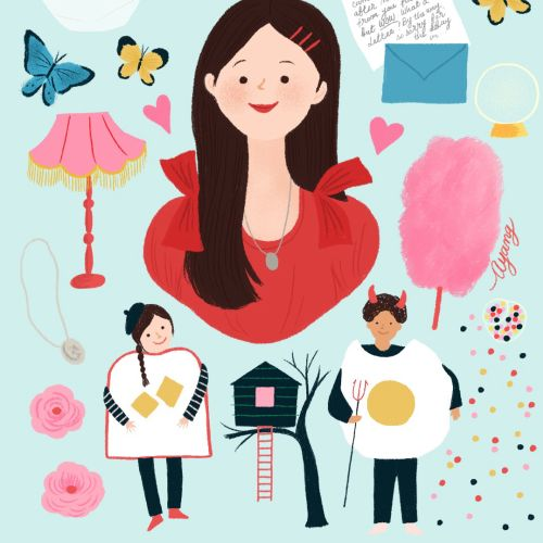 Ayang Cempaka Editorial, packaging and publishing, whimsical illustrator. Dubai