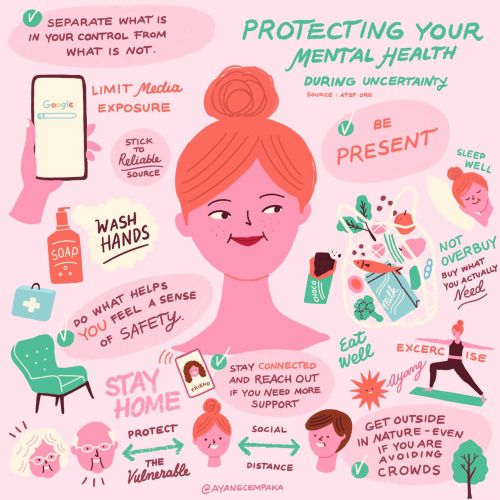 People protecting your mental health