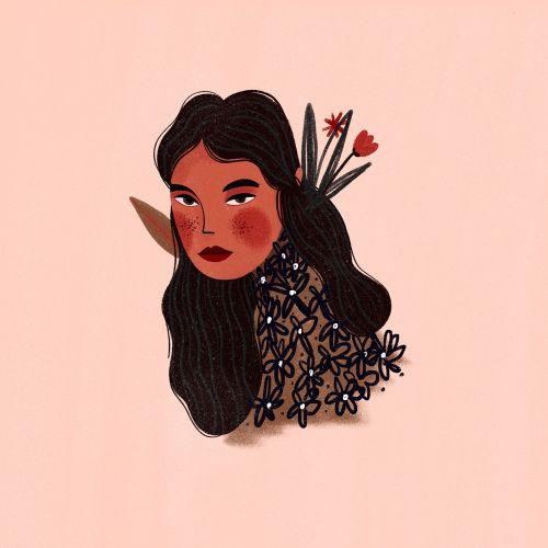 Barbara Tamilin People Illustrator from Brazil