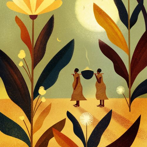 Barbara Tamilin Naturaleza Illustrator from Brazil