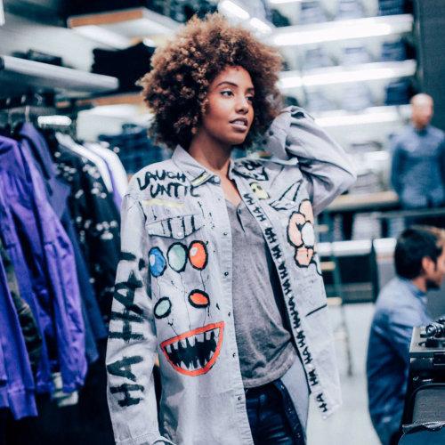 Fashion girl portraiture