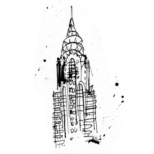Chrysler Building of New York