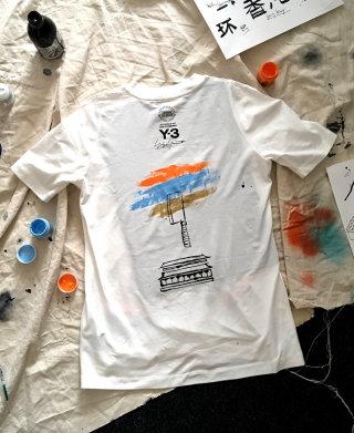 Fashion desing of Adidas Beijing tshirt