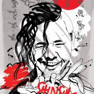 Poster design for WWE Shinsuke Nakamura