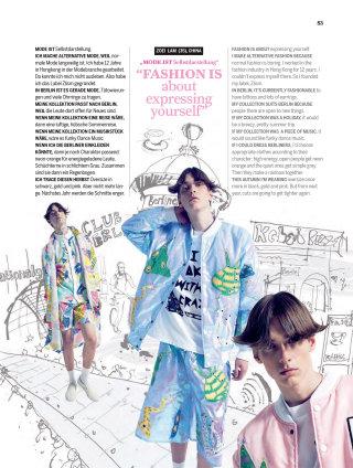 Alternative fashion week illustration by Ben Tallon