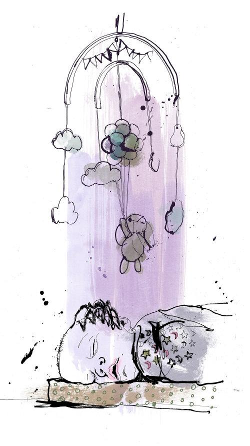 Mão de crise climática bebê aranha desenho