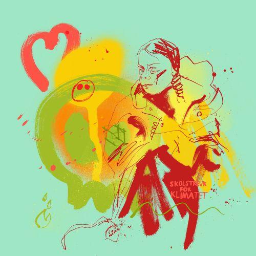 Ben Tallon Dibujado a mano internacional, ilustrador orgánico. Londres