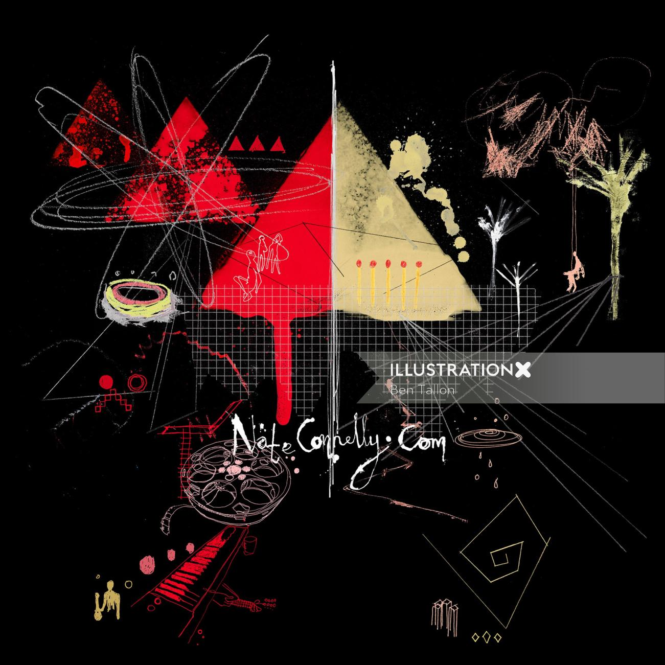Nate Connelly music composer graphic design