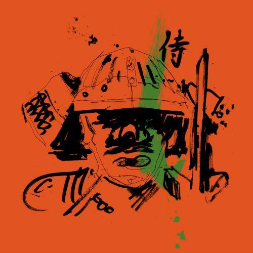 Ink Samurai warrior