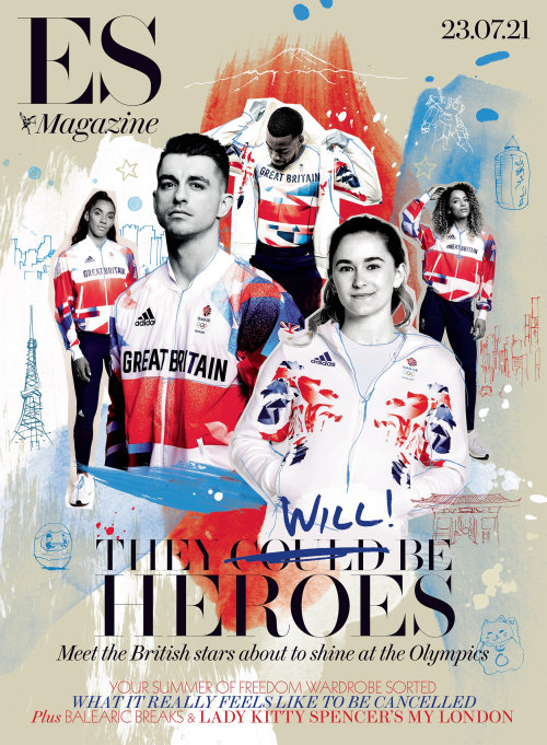 ES Magazine front cover art