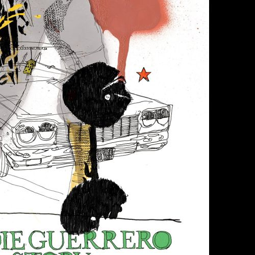 Eddie Guerrero WWE autobiography jacket design