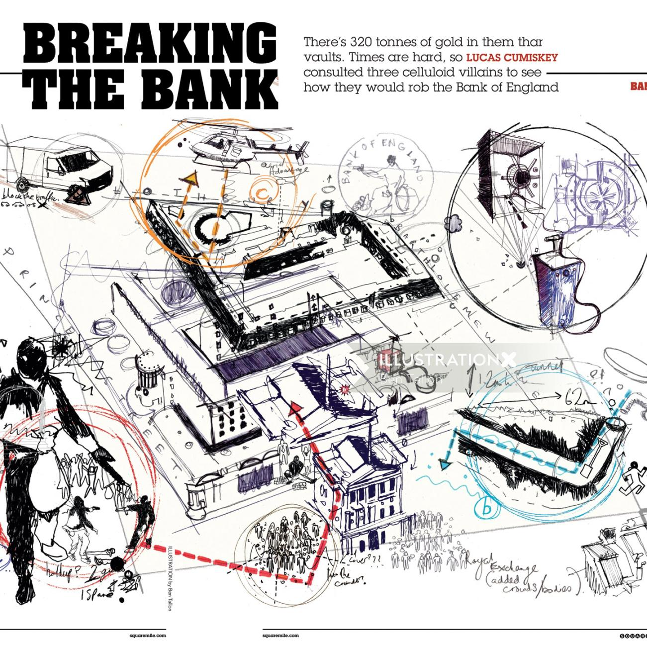 Strategy for Robbing the Bank