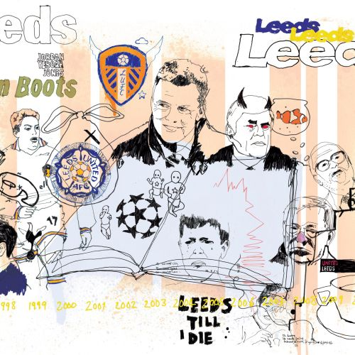 Leeds United Editorial Illustration