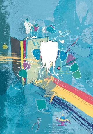 British Dental Association Cover Illustration